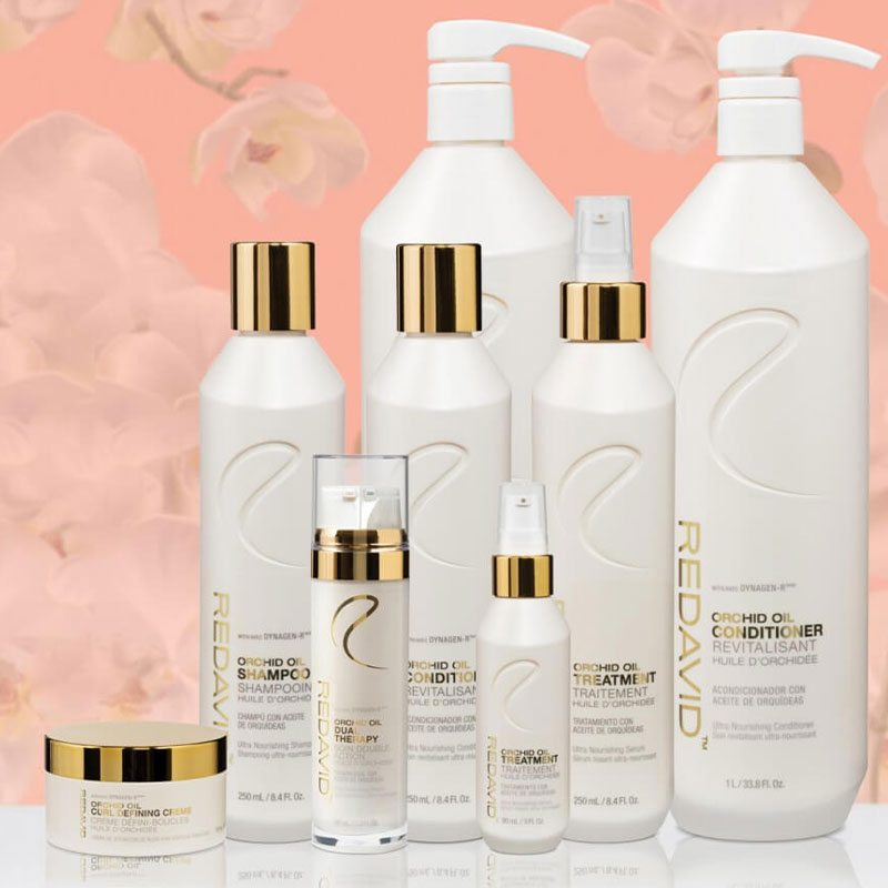 REDAVID Orchid Oil Collection professional distributors in WA OR ID MT